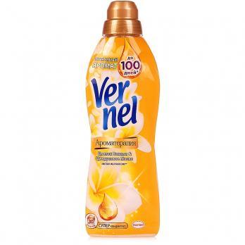 Vernel Кондиционер для белья Ароматерапия Ваниль и Цитрусовое масло 910мл